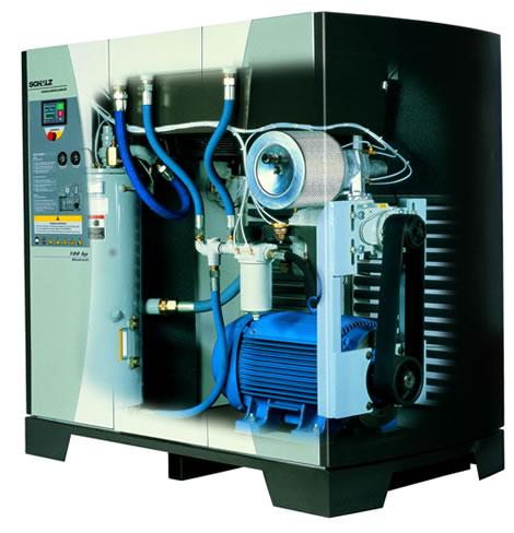 imagem de um compressor