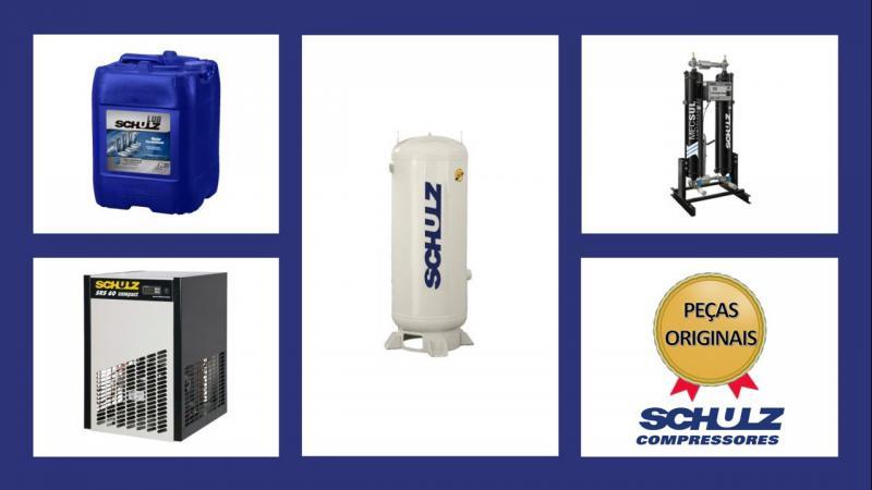 Peças de reposição para compressor de ar