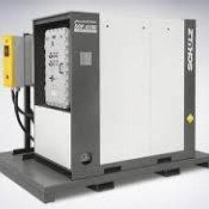 Compressor de ar comprimido rotativo
